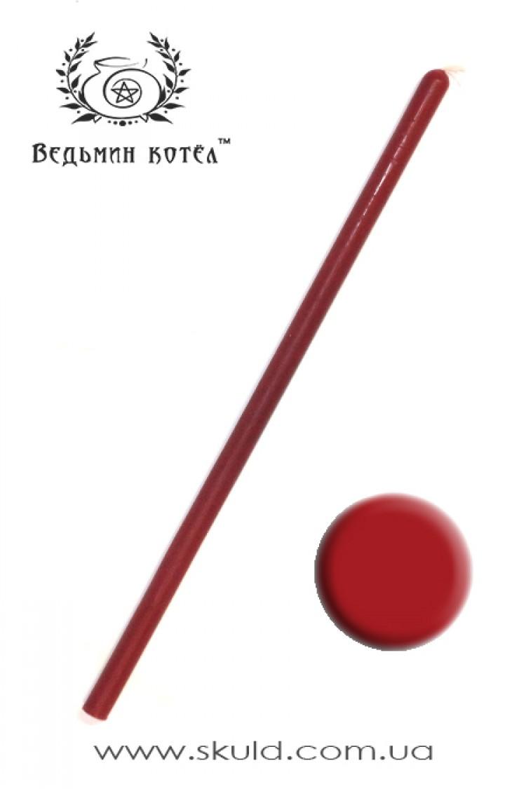 Свеча красная двухчасовая