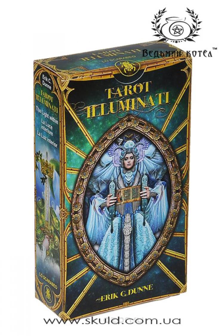 Таро Иллюминатов (Tarot Illuminati (deck and book) by Erik C. Dunne & Kim Huggens)